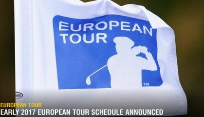 European Tour flag