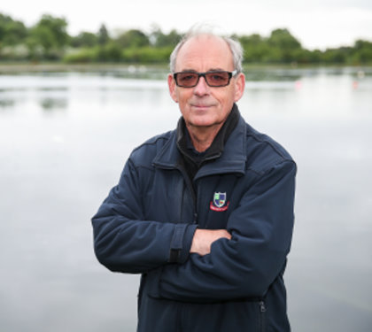 """Frilford Heath course manager Sid Arrowsmith says the improvement the diffused aeration system has made to the reservoir's water quality is """"significant"""""""