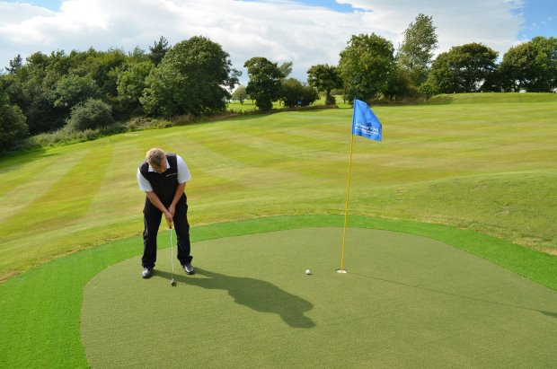 Huxley Golf designed all-weather greens for autumn and winter play at historic Houghton-le-Spring