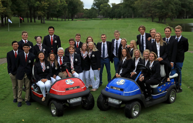 Junior Ryder Cup Closing Ceremony (Getty Images)