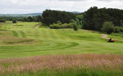 Some of the oldest fairways, roughs and greens in the world are manicured by Jacobsen, at Lanark Golf Club