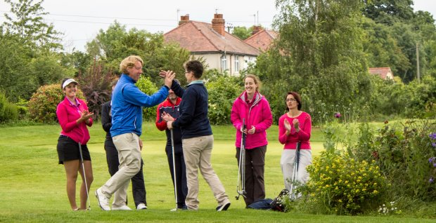 A pioneering golf taster day at Gaudet Luce Golf and Leisure Complex in Worcestershire proved hugely popular with those taking part
