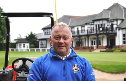 Chris Yeaman, Head Greenkeeper at The Royal Burgess Golfing Society since 2009