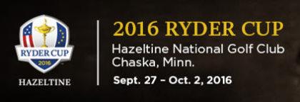 Ryder Cup 2016 banner logo