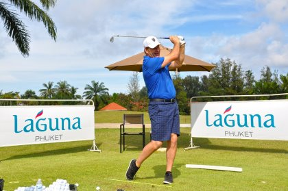 Sir Nick Faldo conducted a clinic during a recent visit to Laguna Golf Phuket, venue for this week's Faldo Series Thailand Championship (South)
