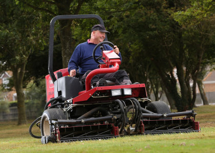 Clacton course manager Alan Smith has chosen four new Toro machines for their quality of cut, longevity and reliability