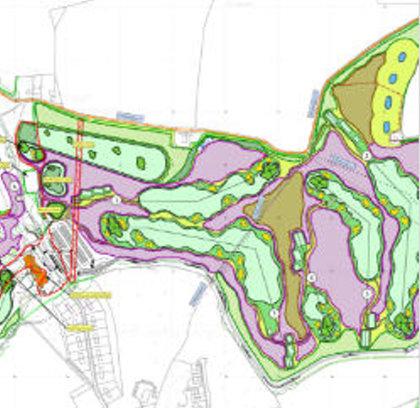 Whittington Heath Proposed 5 new holes