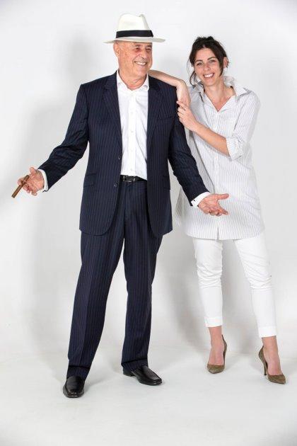 Paul Dellanzo and Dr Beatrice Franceschi
