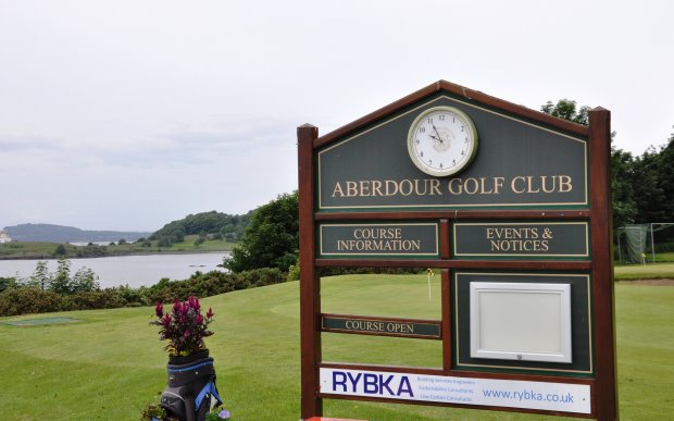 Aberdour Golf Club features breathtaking views across the River Forth