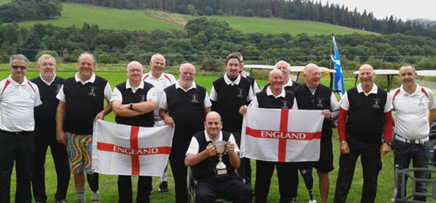 England team claim the Auld Enemies Cup with victory at Macdonald Cardrona Hotel, Golf & Spa
