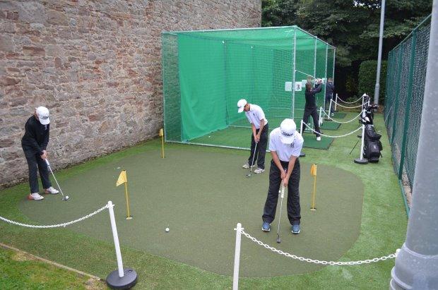 Huxley Golf Practice Area at Merchiston Castle School