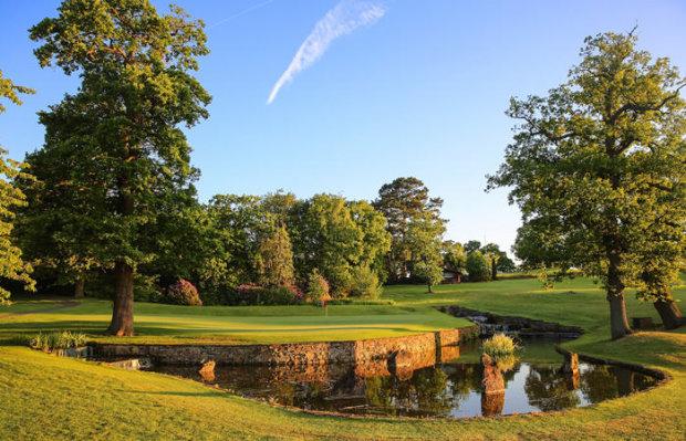 14th hole at Macdonald Portal Hotel, Golf & Spa, Cheshire