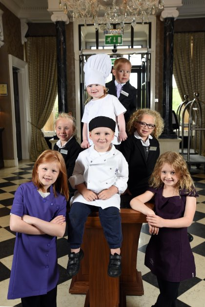 Children's takeover day at QHotels' Oulton Hall Hotel, near Leeds