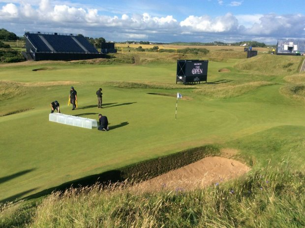 STRI undertaking objective measurements at The Open 2016