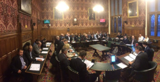 MPs, Peers and Associate Members hear from Sky Sports Golf