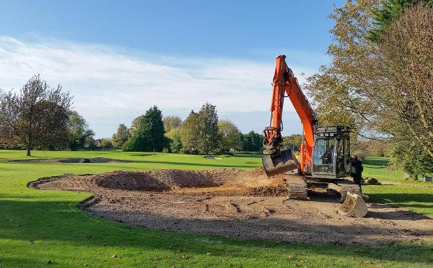 Course work at Flackwell Heath Golf Club, Creative Golf Design