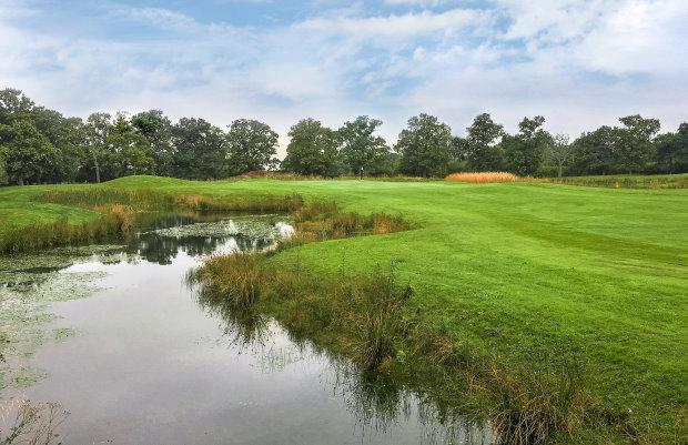 #7 at Studley Wood Golf Club