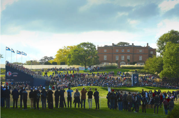 Competitors in the British Masters consistently heaped praise on the conditioning, preparation and layout of the golf course