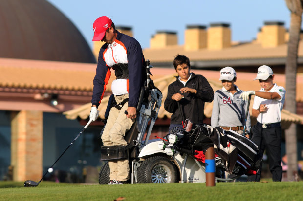 Competitors take part at the handi-junior Chris Stilwell Trophy 2015 (copyright ATA)