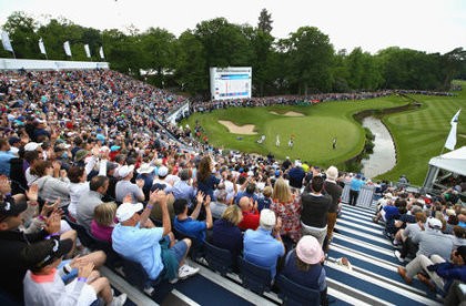 BMW PGA Championship at Wentworth, part of the European Tour's GreenDrive, one of a growing number of sustainability initiatives at golf tournaments.