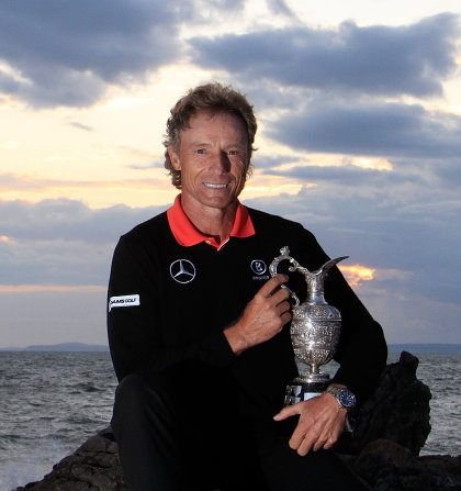 Bernhard Langer won the Championship in 2014, the last time it was played at Royal Porthcawl (Getty Images)