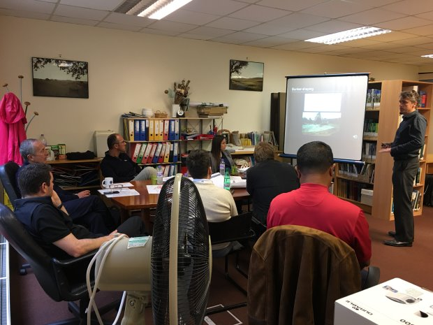 In the classroom with Ken Moodie