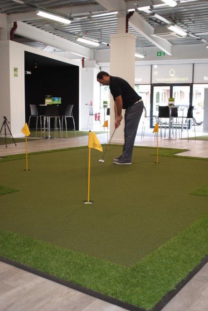 Huxley Golf installation at Fairweather Golf