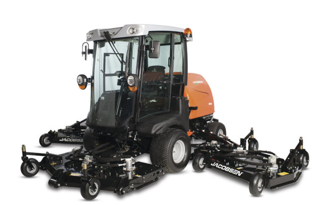 The HR800 wide-area rotary mower