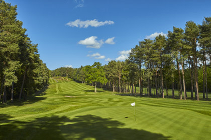 Longcross Course, hole 14