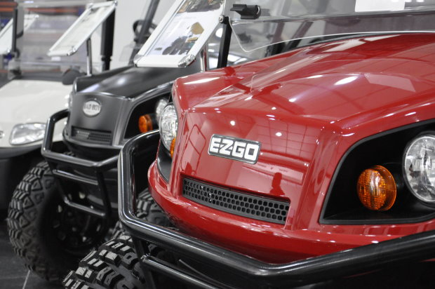 Luxury Carts Arabia will distribute Ransomes Jacobsen turf equipment and E-Z-GO golf cars in the UAE