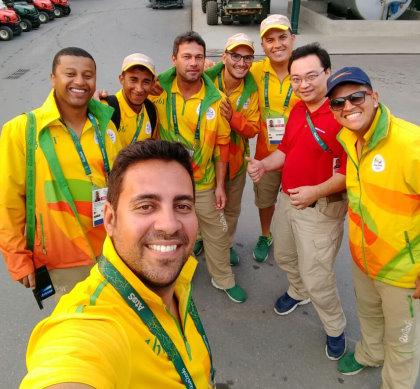 Rio Olympics Support Team