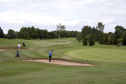 Sapey Golf Course, designed by Ross McMurray