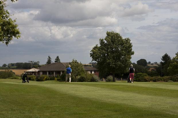Sapey Golf Club from 18th hole