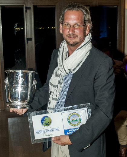 Kristoff Both, director of golf at Club de Golf Alcanada