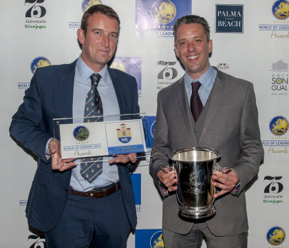 Monte Rei's Darren Griffiths (left) and David Washington