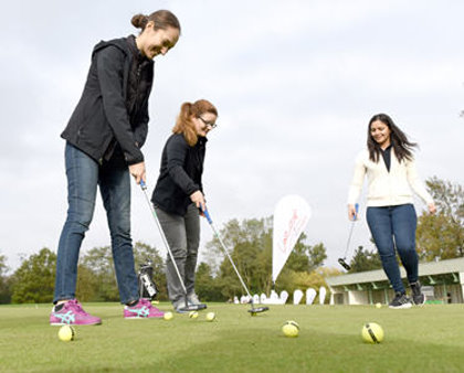 Staff at Syngenta are introduced to love.golf the pioneering social coaching programme