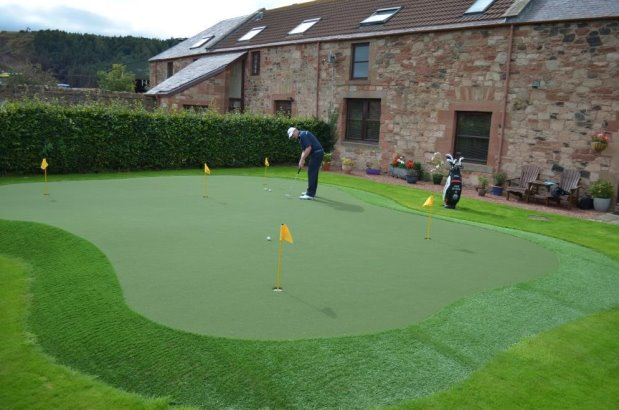 David Drysdale has returned to Huxley Golf to enhance his practice facilities