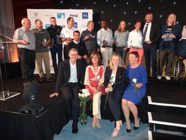 EDGA Algarve Open winners and team