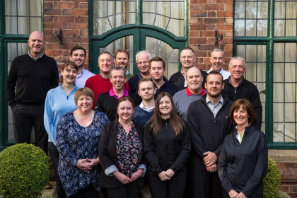 Delegates at the 89th Introduction to Golf Club Management training course at Aldwark Manor