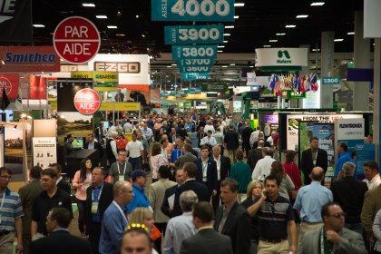 Golf Industry Show in San Diego, California (courtesy of GCSAA)