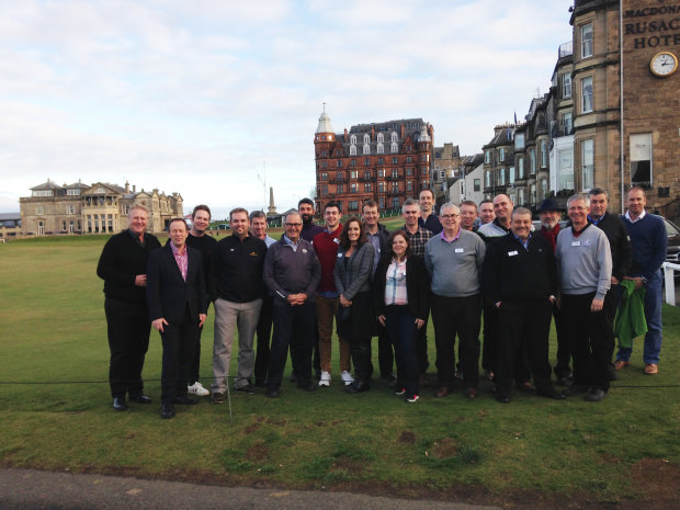 CMAE's MDP Golf St Andrews 2016