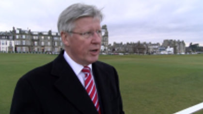 Martin Slumbers, Chief Executive of The R&A