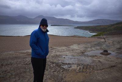 Bob Harrison at Ardfin