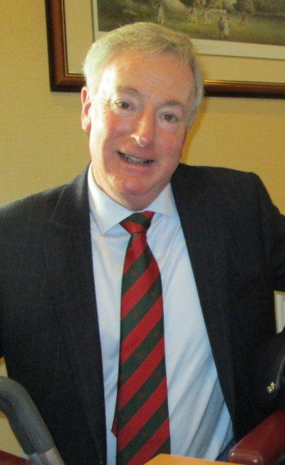 Club captain David Paterson