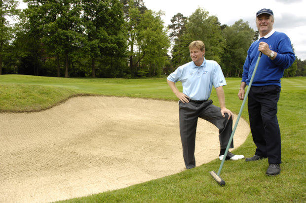Ernie Els and Chris Kennedy at Wentworth