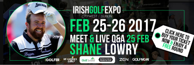 Irish Golf Expo banner