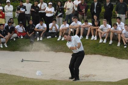13 December 2007. Faldo Series Asia Grand Final 2007, Day 2, Faldo Course, Mission Hills Golf Club, Guangdong Province, China. Mandatory photo credit: Richard Castka/Sportpix International