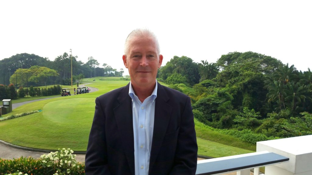 Eric Lynge, Chief Executive Officer of the Asian Golf Industry Federation