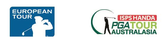 European Tour PGA Tour Australasia logos