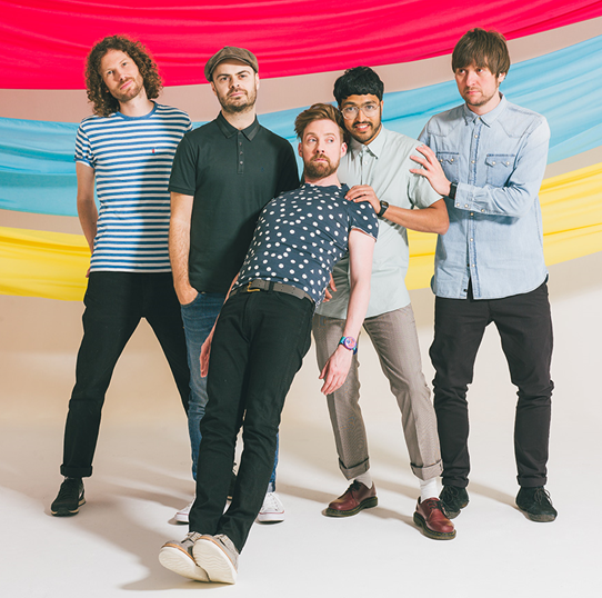 Kaiser Chiefs (credit Danny North)